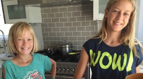 Letting kids into the kitchen