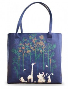 Paint the Rainforest Create and Case Vegan Bag