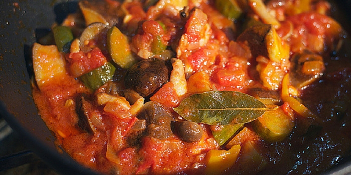 Chic Vegan Rustic French Ratatouille - Chic Vegan