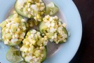 Corn and Squash-Stuffed Avocados