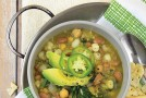 Green and White Chili Bowl from Vegan Bowls by Zsu Dever