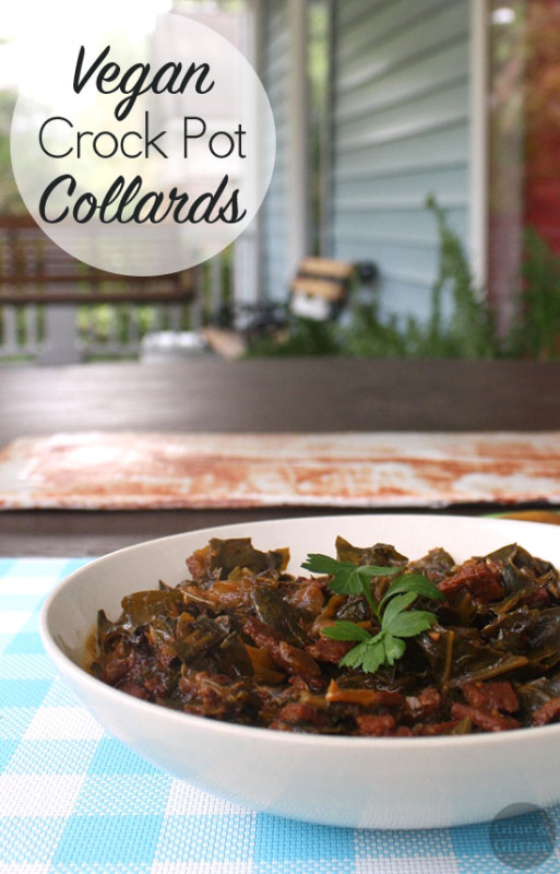 Vegan Crock Pot Collards