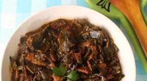 Vegan Crock Pot Collards