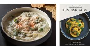 Warm Kale and Artichoke Dip from Crossroads by Tal Ronnen
