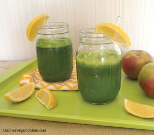 Green Juice made with the Tribest Solostar 4 Juicer