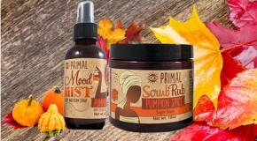 Product Review: Go Primal Pumpkin Spice Scrub Rub and Mood Mist