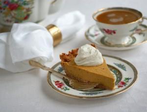 Vegan and Grain-Free Pumpkin Pie from Ricki Heller