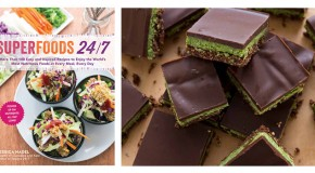 Minty Matcha Nanaimo Bars from Superfoods 24/7 by Jessica Nadel