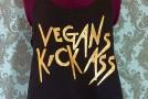 Vegans Kick Ass T-Shirt