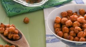 Vegan Barbecue Roasted Chickpea Snacks