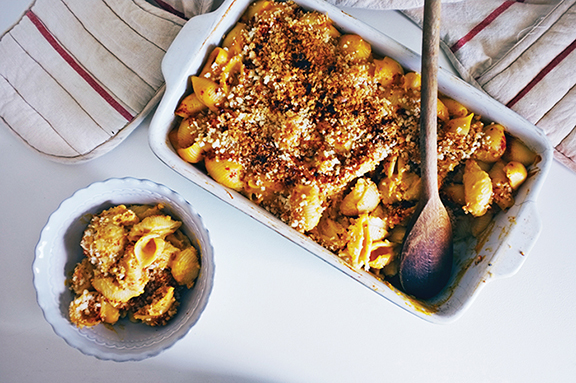Mac & Cheese from The Plantiful Table by Andrea Duclos