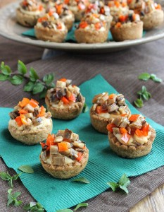 garlic hummus stuffed mini cups 675 mini