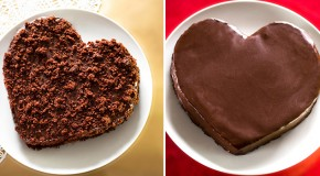 Fran Costigan's Heart-Shaped Vegan Chocolate Cake to Live For