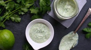 Vegan Cilantro Lime Crema
