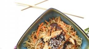 Sesame Shiitake Kelp Noodle Salad