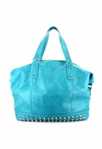 LANY's Studded Feet Barrel bag
