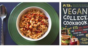 'Pimp My Ramen' Noodles from Peta's Vegan College Cookbook