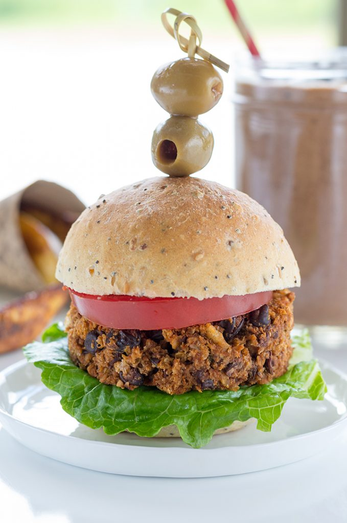Hungry Guy Burger from Laura Theodore's Vegan-Ease