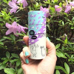 The New Meow Meow Tweet Deodorant Stick – Lavender Bergamot