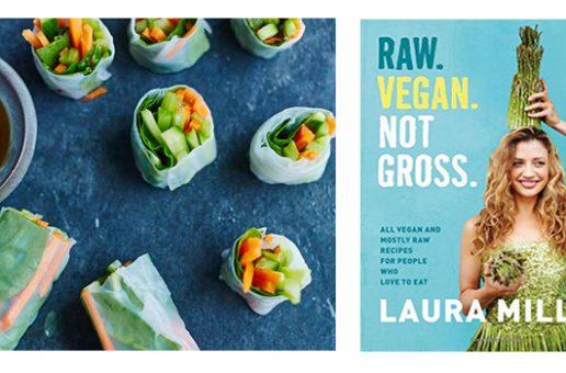 Spring Rolls from Raw. Vegan. Not Gross. by Laura Miller