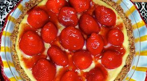 Laura Theodore's Strawberry Mountain Pie