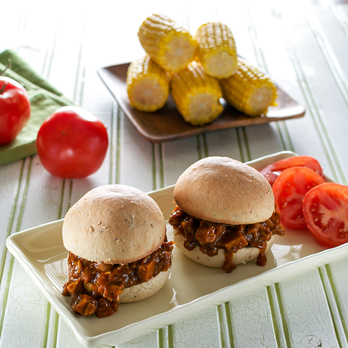 BBQ Jack Sandwiches from Cook the Pantry by Robin Robertson