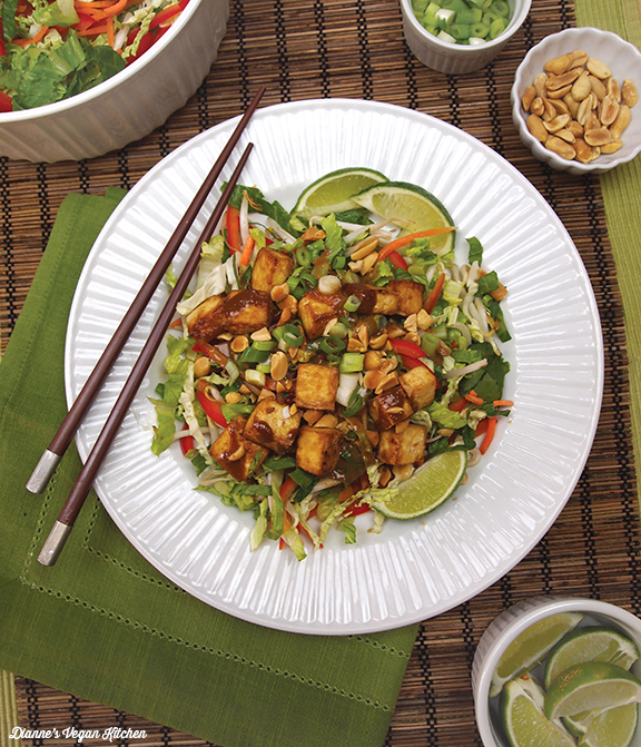 Stir-Fry Salad from What's for Lunch by Dianne Wenz
