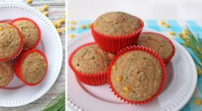 Easy Vegan Corn Muffins