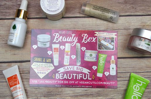 Have Fun in the Sun with the July Vegan Cuts Beauty Box