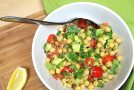 Vegan Avocado Chickpea Salad