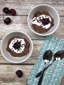 Chocolate Maca Chia Pudding from Protein Ninja by Terry Hope Romero