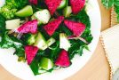 Crunchy Kale and Pitaya Salad