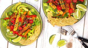 Vegan Fajita Salad