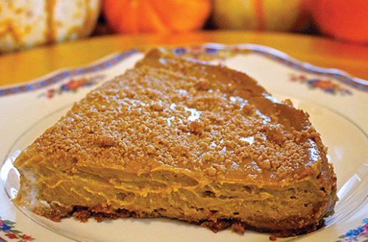 Laura Theodore's Vegan Pumpkin Spice Cheeze-Cake