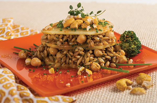 Curried Chickpeas with Veggies from The Healing Foods Cookbook by Gary Null