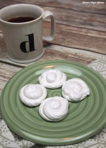 Meringue Cookies from Aquafaba by Zsu Dever