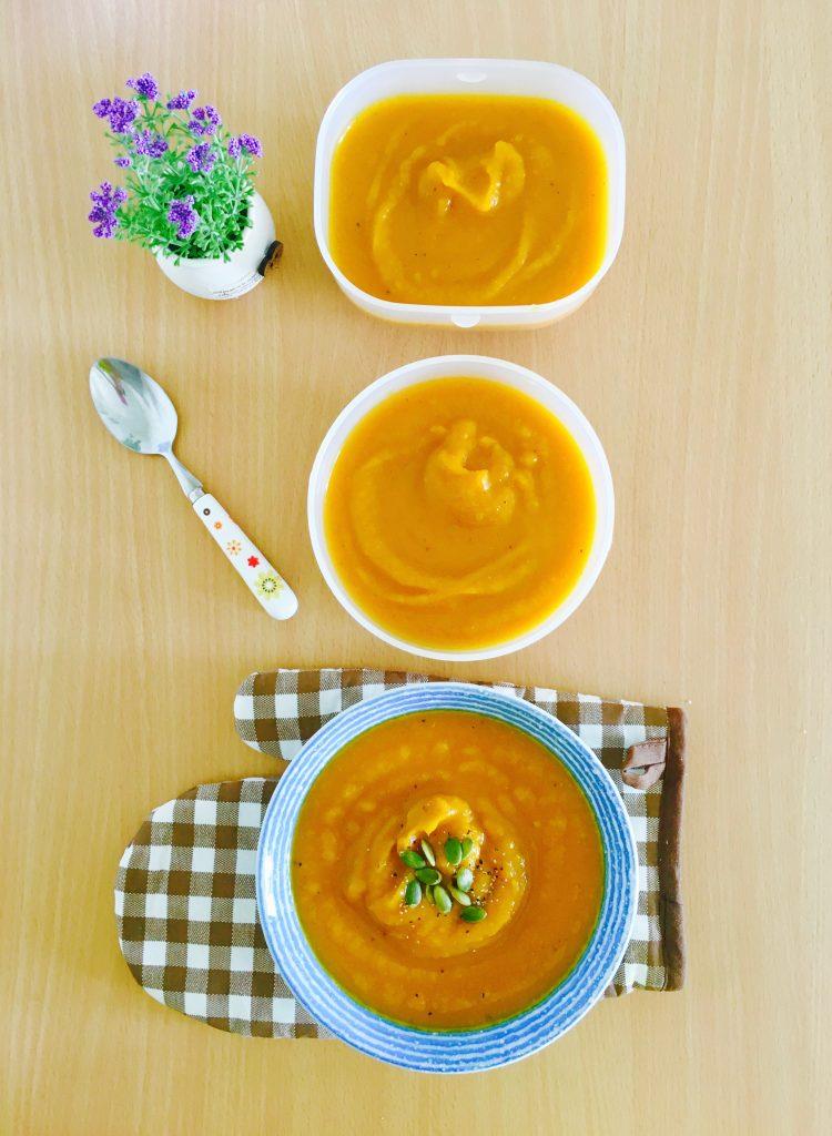 Healing Miso Pumpkin Soup
