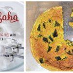 Aquafaba Chile Relleno Vegan Quiche