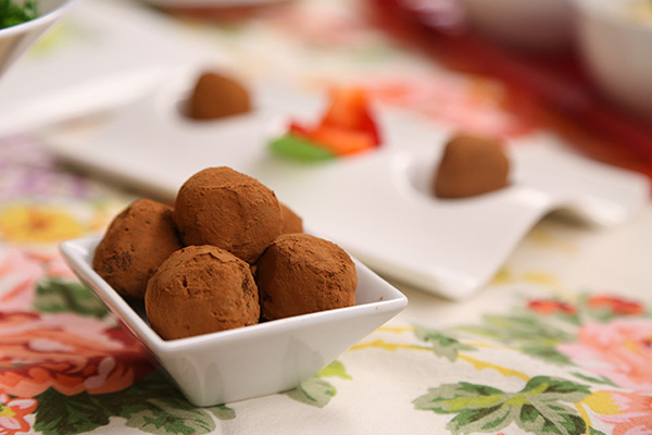 Maple-Raisin-Date Truffles