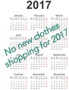 5 stylish 2017 shopping resolution ideas