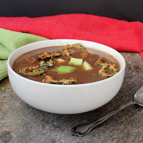 Tomato Black Bean Soup from Vegan Mexico by Jason Wyrick