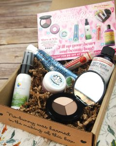 the February Vegan Cuts Beauty Box