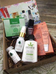 the March Vegan Cuts Vegan Beauty Box