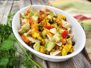 Vegan Breakfast Nachos from Veganize It