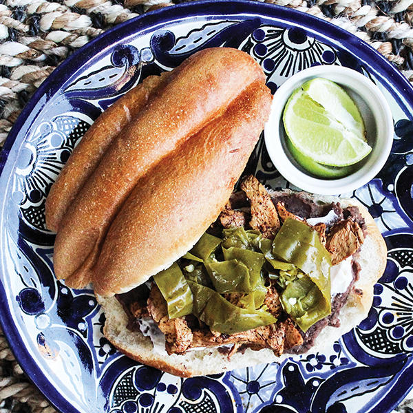 Vegan Black Bean and Poblano Chile Torta - Chic Vegan