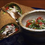 Recipe: Raw Falafel Hummus Wrap