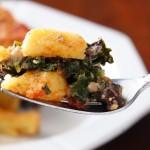 Recipe: Polenta Lasagna with Portabellos and Kale