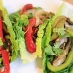 Lo-Cal Spicy Vegan Fajitas
