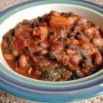Vegan Pumpkin Kale Chili