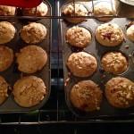 Recipe: Peanut Butter and Jelly Stuffed Banana Muffins